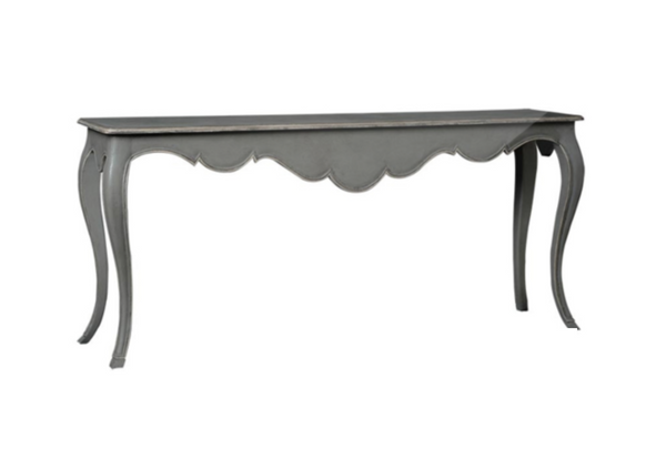 SALE - Grey Console Table W190cm and Black Console Table W130cm