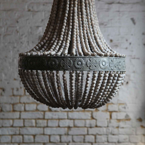 Clay Beaded Chandelier