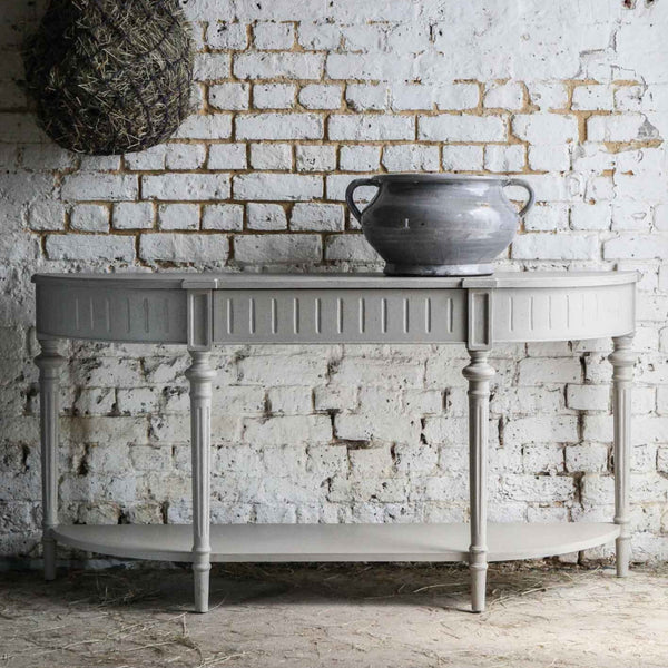 Light Grey Console Table