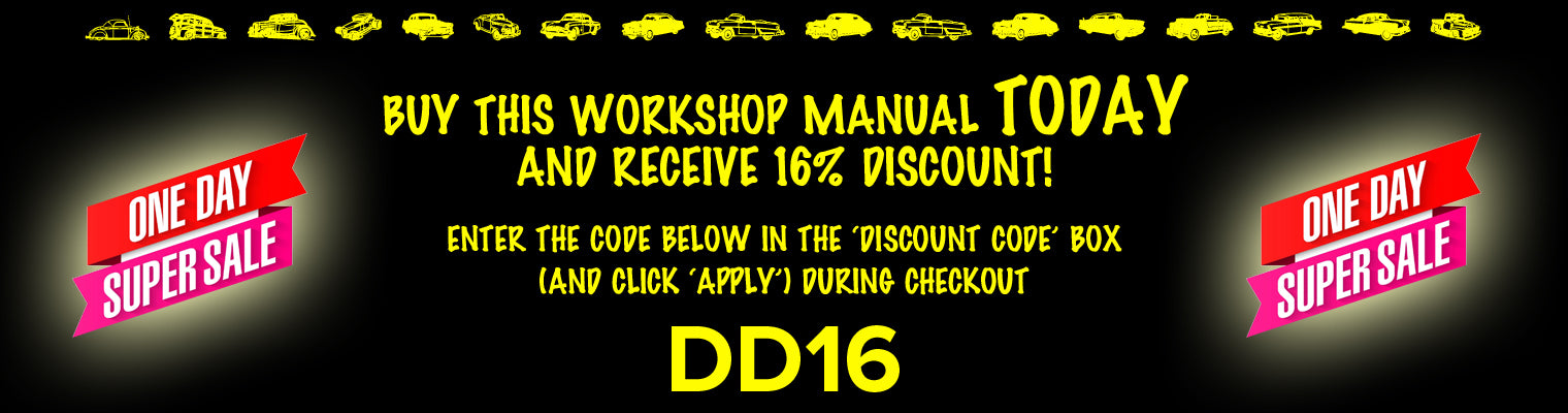 Daily Deal 16% Discount | carmanualsdirect