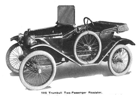 Trumbull 2 Seater Roadster 1915