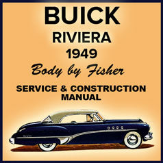 BUICK 1949, Riviera Sports Coupe Body Manual