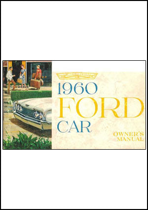 Ford Fairlane, Galaxie 1960 Owners Manual - FREE
