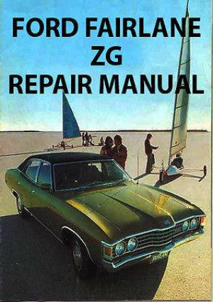 FORD Fairlane ZG Series 1973-1976 Workshop Manual