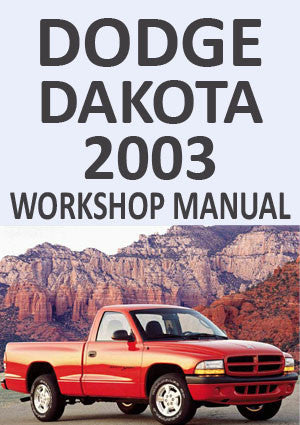 DODGE Dakota 2003Workshop Manual