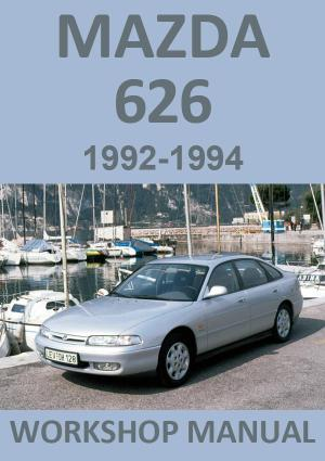 MAZDA 626 1992-1994 Workshop Manual