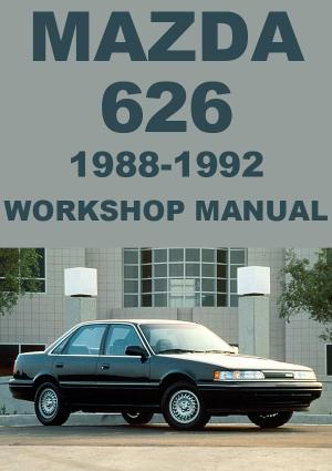 MAZDA 626 1988-1992 Workshop Manual