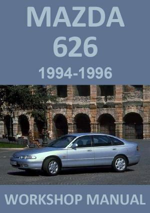 MAZDA 626 1994-1996 Workshop Manual