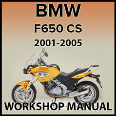 BMW F650 CS 2001-2005 Workshop Manual