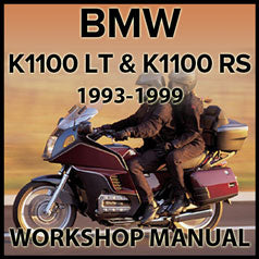 BMW K1100 LT and Kwwoo RS Motorcycle Workshop Manual