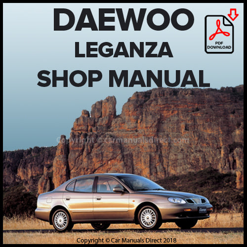 DAEWOO Leganza 1997-2002 Workshop Manual | carmanualsdirect