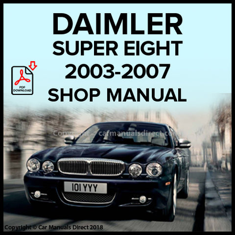 Daimler Super Eight 2003-2007 Workshop Manual | carmanualsdirect