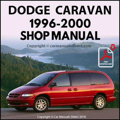 DODGE 1996-2000 Caravan and Grand Caravan Shop Manual | carmanualsdirect