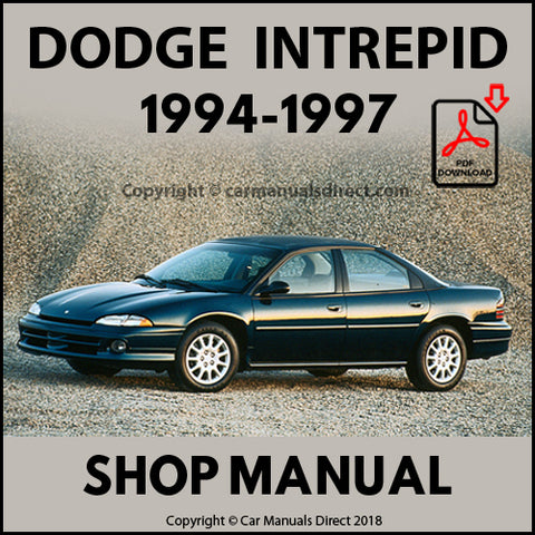 DODGE 1994-1997 Intrepid Shop Manual | carmanualsdirect