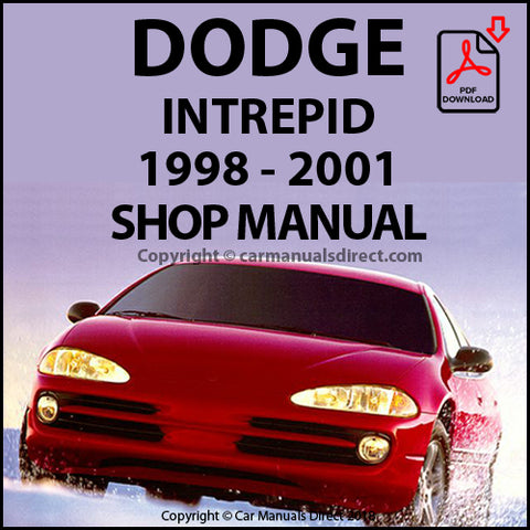 DODGE 1998-2001 Intrepid Shop Manual | carmanualsdirect
