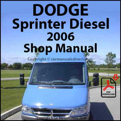 DODGE 2006 Sprinter Diesel Shop Manual | carmanualsdirect