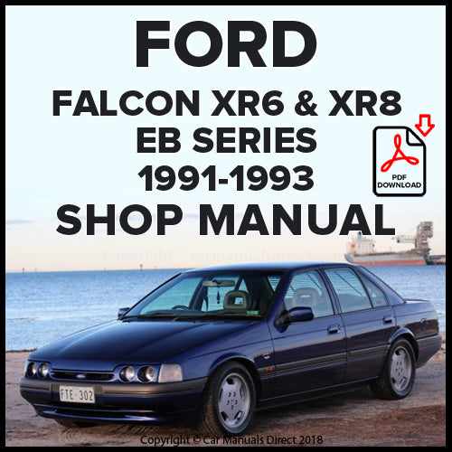 FORD Falcon XR6 and XR8 EB Shop Manual | carmanualsdirect