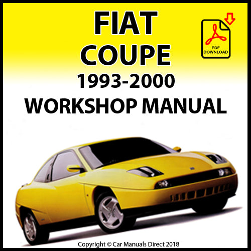 FIAT Coupe 1993-2000 Workshop Manual | carmanualsdirect