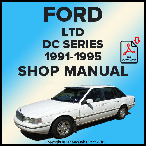 FORD LTD DC Series 1991-1995 Workshop Manual | carmanualsdirect
