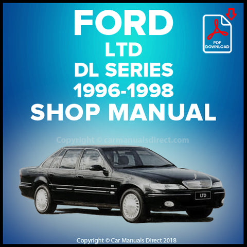 FORD LTD DL Series 1996-1998 Workshop Manual | carmanualsdirect