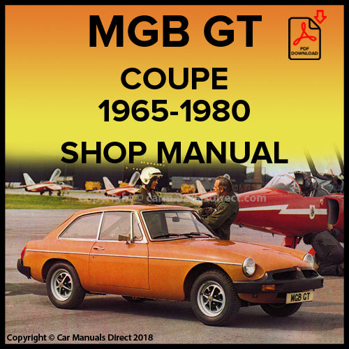 MG B GT 1965-1980 Shop Manual | carmanualsdirect