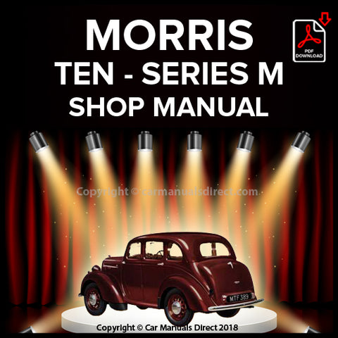 MORRIS Ten Series M 1938-1948 Workshop Manual | carmanualsdirect
