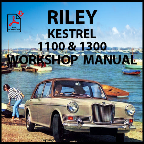 RILEY Kestrel 1100 and 1300 Workshop Manual | carmanualsdirect