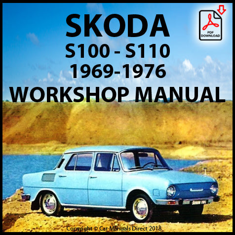 SKODA S100, SKODA S110 1969-1976 Workshop Manual | carmanualsdirect