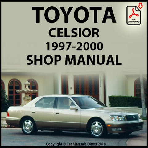 TOYOTA Celsior UCF20 1997-2000 Shop Manual | carmanualsdirect