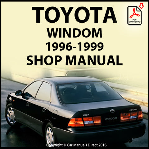 TOYOTA Windom 1996-1999 Shop Manual | carmanualsdirect