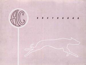 AC Greyhound Sales Literature - FREE