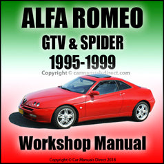 ALFA ROMEO GTV & Spider Workshop Manual: 1995-1999