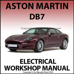 ASTON MARTIN DB7 Electrical Workshop Manual
