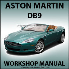 ASTON MARTIN DB9 V12 2004-2008 Workshop Manual