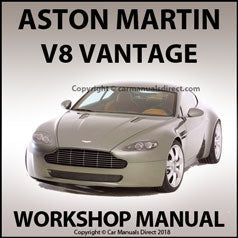 ASTON MARTIN V8 Vantage 2006-2009 Workshop Manual