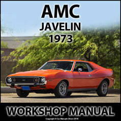 AMC Javelin 1973 Workshop Manual