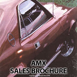 AMC AMX & Javelin 1969 Sales Literature - FREE
