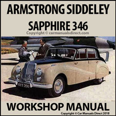 ARMSTRONG SIDDELEY Sapphire 346 1953-1958 Workshop Manual
