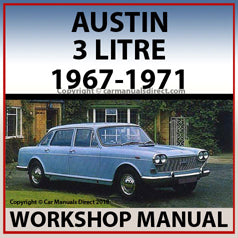 AUSTIN 3 Litre Workshop Manual