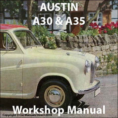 AUSTIN A30 & A35 Workshop Manual