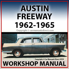 AUSTIN Freeway 1962-1966 Workshop Manual