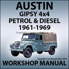 AUSTIN Gipsy 4x4 1958-1968 Workshop Manual | carmanualsdirect