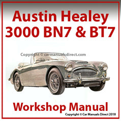 AUSTIN Healey 3000 1959-1963 Workshop Manual