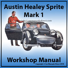AUSTIN Healey Sprite Mark 1 1958-1961 Workshop Manual