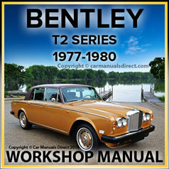 BENTLEY T2 1977-1980 Comprehensive Factory Workshop Manual | carmanualsdirect