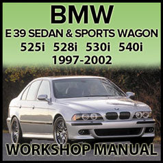 BMW E39 525i, 528i, 530i, 540i Factory Workshop Manual