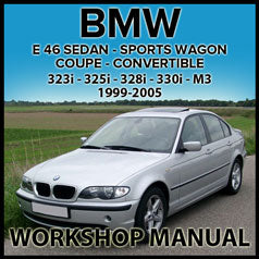BMW E46 323i, 325i, 325xi, 328i, 330i, 330xi, M3 Factory Workshop Manual