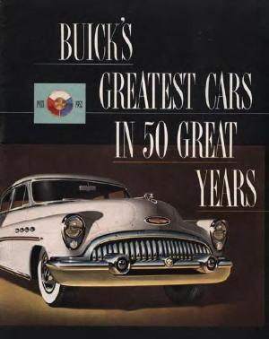 Buick 1953 - Greatest Cars in 50 Great Years - Sales Literature - FREE