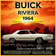 BUICK Riviera 1964 Workshop Manual