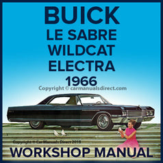 BUICK Lesabre, Wildcat, Electra 225 1966 Workshop Manual